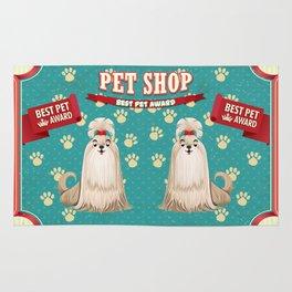 Retro Best Pet Award Rug