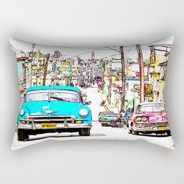 Cuba , calle de La Habana  ( Cuba , Havana street ) Rectangular Pillow