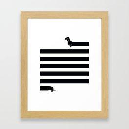 (Very) Long Dog Framed Art Print