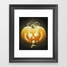 Pumpkin II. Framed Art Print