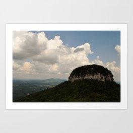 Pilot Mountain - North Carolina Art Print
