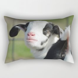 Looking Back Rectangular Pillow