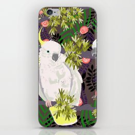 Cockatoos iPhone Skin