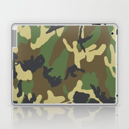 Woodland Camo Laptop & iPad Skin