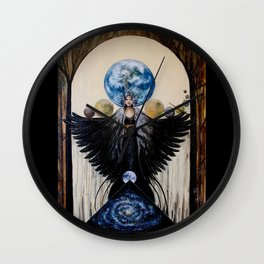 Between the Worlds Wall Clock