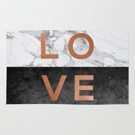 Love Copper Rug