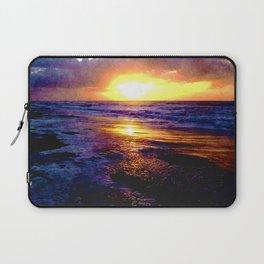 Atlantic Ocean Sunrise Laptop Sleeve