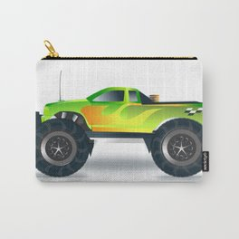 Monster Truck Toy Design Carry-All Pouch