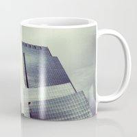 buildings Mugs featuring buildings by ALEXIS