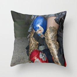 Round Uno Throw Pillow