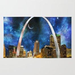 Spacey St. Louis Skyline Rug