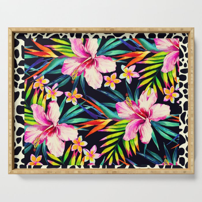 tropical wild 2 Serving Tray