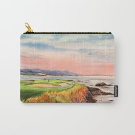 Pebble Beach Golf Course 7th Hole Carry-All Pouch