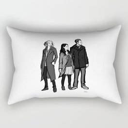 elementary: the diabolical kind Rectangular Pillow