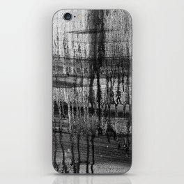 Grayscale Stains iPhone Skin