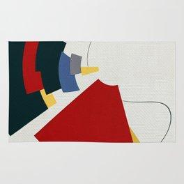 Dos Líneas de Miró Rug