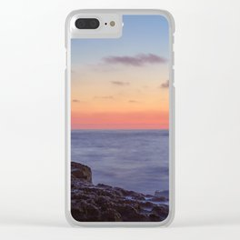 The Moon Pales in Comparison in San Diego Clear iPhone Case