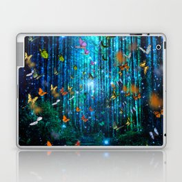 Magical Path Butterflies Laptop & iPad Skin