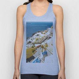 Santorini City Unisex Tank Top