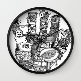 Second Hand Wall Clock