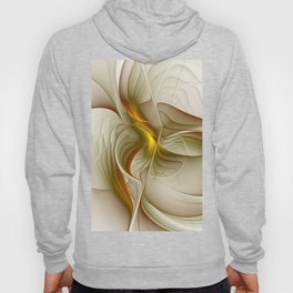 Abstract With Colors Of Precious Metals, Fractal Art Hoody