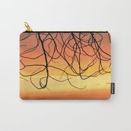 Purple Sunset At The Mountains III Carry-All Pouch