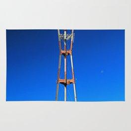 Sutro Tower- vertical Rug