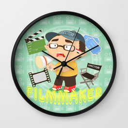 Filmmaker Wall Clock