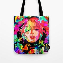 She Grows Violet Tote Bag