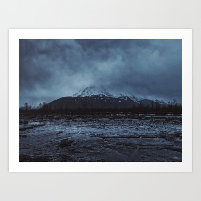 Haunted Alaska Art Print