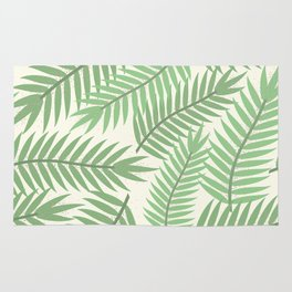 Vintage Florida Palm Fronds 2 Rug