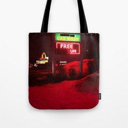 Gas Station Tote Bag