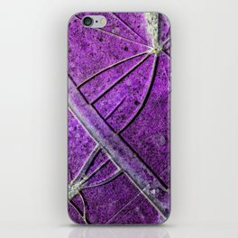 Very Distressed Gothic Grunge Shattered Glass Close Up Abstract iPhone Skin
