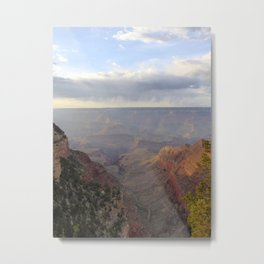Rain over the Canyon Metal Print