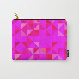 Pink triangles Carry-All Pouch