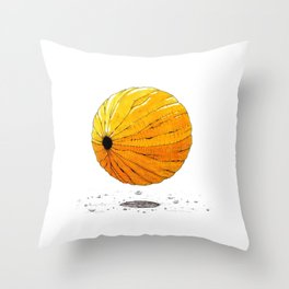 Une graine Throw Pillow