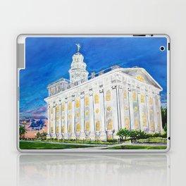 Nauvoo Illinois LDS Temple Laptop & iPad Skin