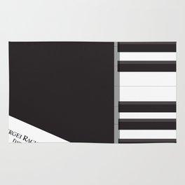 Shine, Geoffrey Rush, David Helfgott, Scott Hicks, alternative movie poster, minimalist film, affich Rug