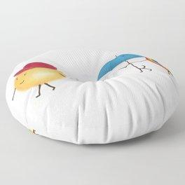 happy days Floor Pillow