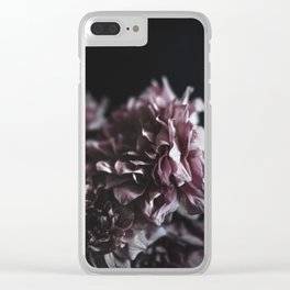 Dahlia in the Dark Clear iPhone Case