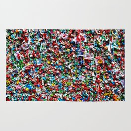 Pop of Color - Seattle Gum Wall Rug