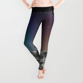 It Cannot Block Out the Sun Leggings