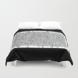 You Are Here #10 Duvet Cover