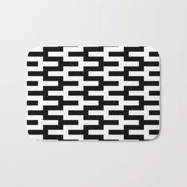 Geometric Pattern #89 (zigzag) Bath Mat