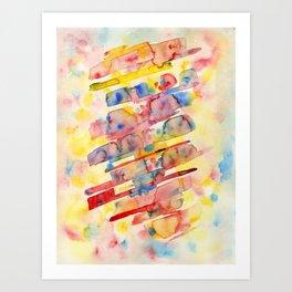 Watersplat - Series 1, 08 Art Print
