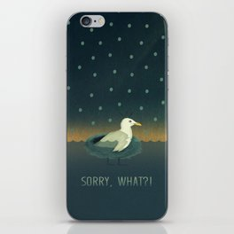 Sorry, what?! iPhone Skin