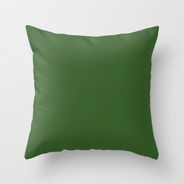 Shoreline Shadows ~ Leaf Green Coordinating Solid Throw Pillow