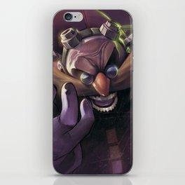 Dr. Eggman iPhone Skin