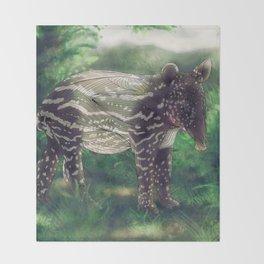 Tapir Throw Blanket