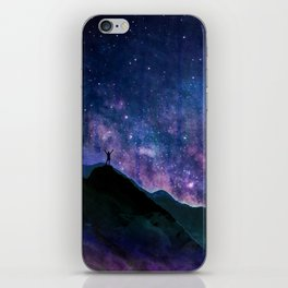 Stay Curious - Go explore the planet the stars and nature iPhone Skin